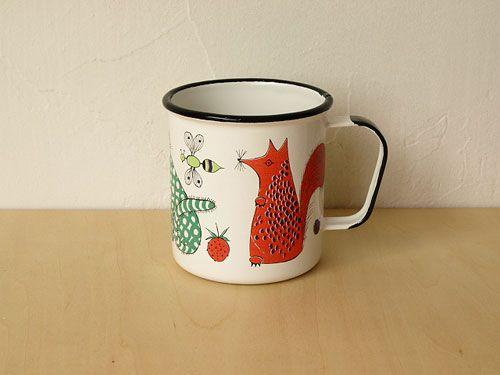 ARABIA FINEL mug cup is too cute