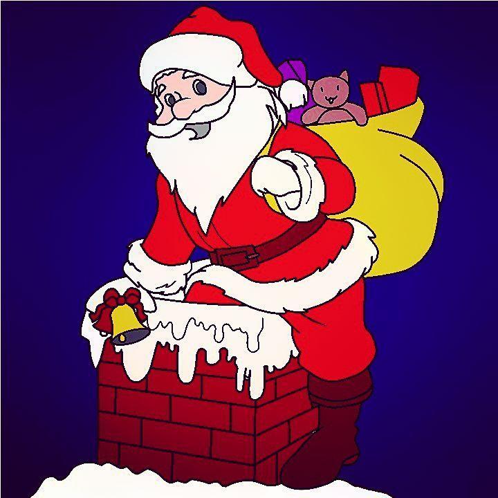 perenoel #noël #noel #christmas #rouge #red #coloriage