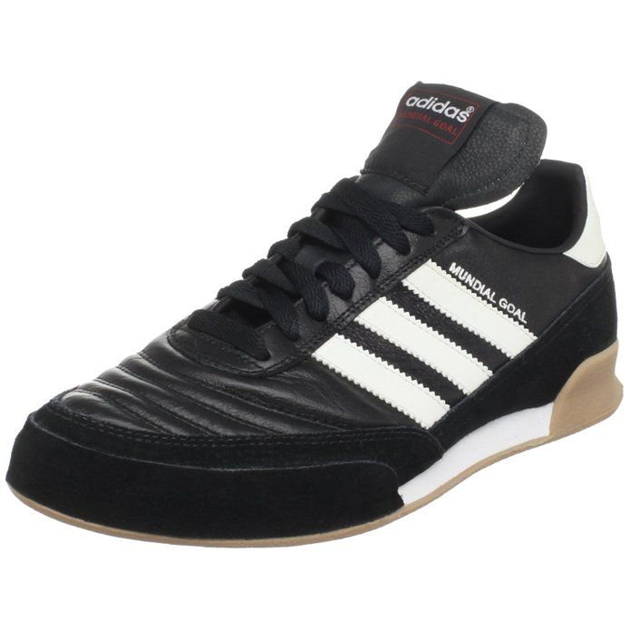 adidas Performance Men\u0027s Mundial Goal Soccer M US Split-suede leather upper  Synthetic lining for comfort Die-cut EVA insole for lightweight comfort ...