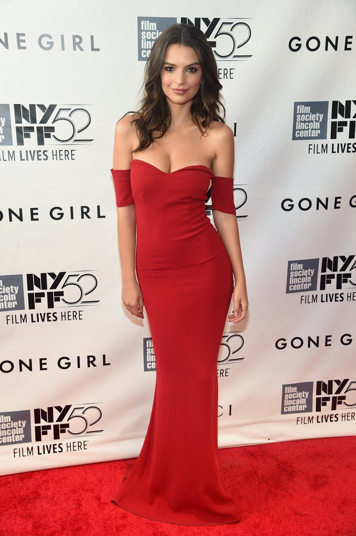Pin for Later: LBD vs. LWD: It Was a Battle of the Neutrals on the Red Carpet This Week Emily Ratajkowski Emily Ratajkowski at the 2014 New York Film Festival premiere of Gone Girl.