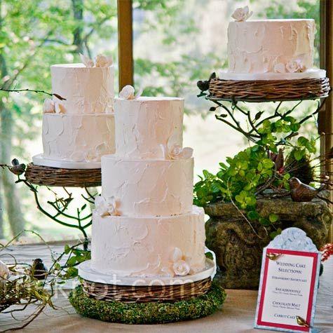 Rustic Buttercream Cakes