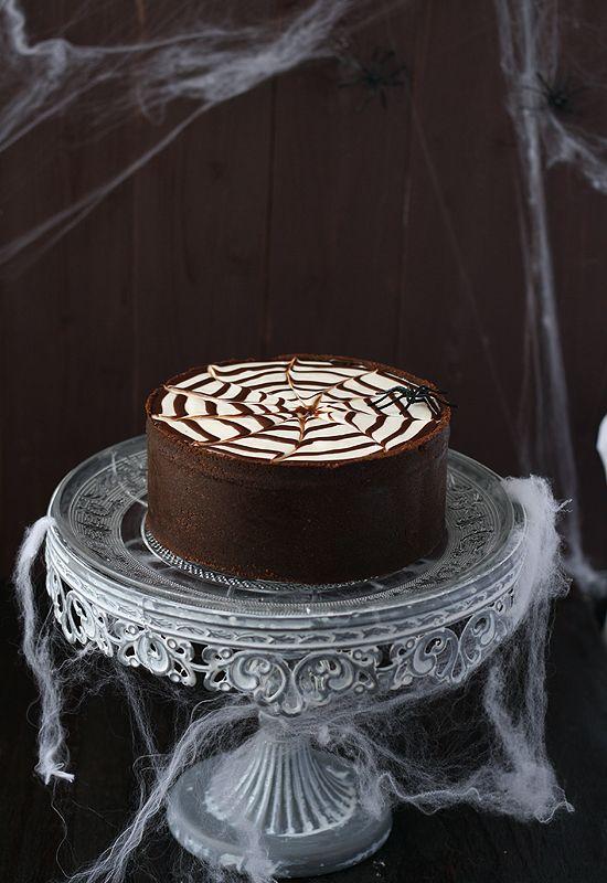 Tarta de philadelphia y chocolate