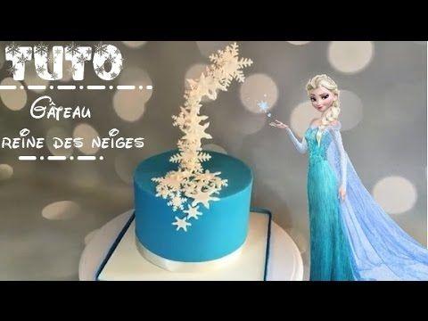 Comment faire un gâteau reine des neiges ? How to make a frozen princess cake ? - YouTube