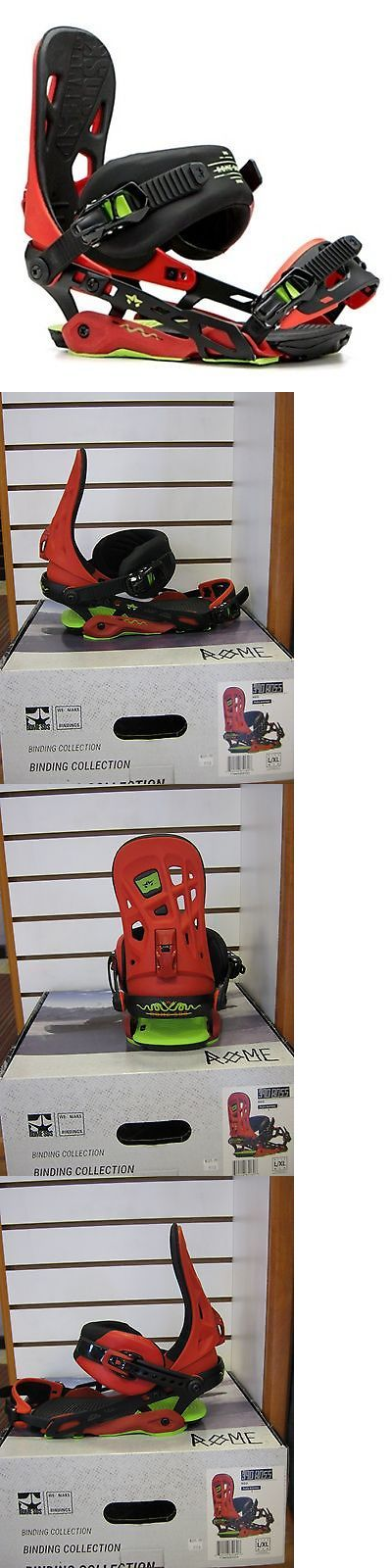 Bindings 21248: 2017 Rome Sds 390 Boss Snowboard Bindings L/Xl Red BUY IT NOW ONLY: $169.0