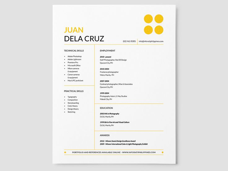 Best Resumes  Cv Images On   Resume Templates Cv