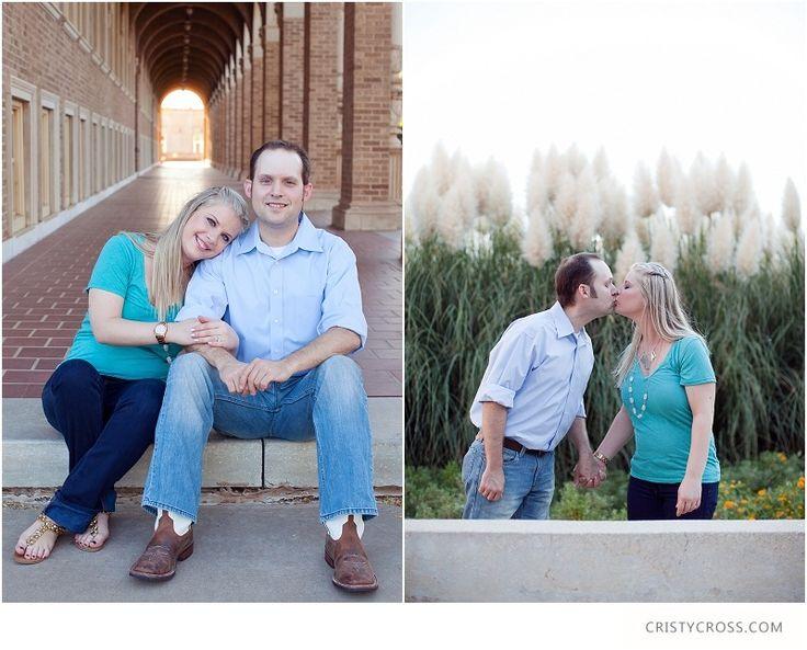Family portrait at Texas Tech University