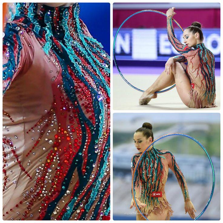 Katsiaryna Halkina (Belarus), hoop 2016 (photos by Oleg Naumov and Ulrich Fassbender)