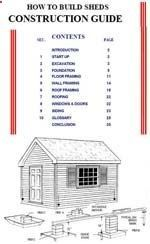 Shed Plans - Shed Plans - Just Sheds Inc has this great free 31 page PDF titled How to Build Sheds Construction Guide. This guide is helpful for all DIY Shed Plan Builders. gardenshedplanson... - Now You Can Build ANY Shed In A Weekend Even If Youve Zero Woodworking Experience! Now You Can Build ANY Shed In A Weekend Even If Youve Zero Woodworking Experience!