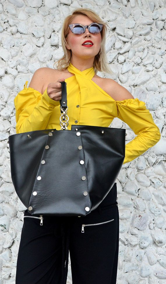 Large Genuine Leather Bag TLB15 Large Black Tote Leather https://www.etsy.com/listing/502404210/large-genuine-leather-bag-tlb15-large?utm_campaign=crowdfire&utm_content=crowdfire&utm_medium=social&utm_source=pinterest