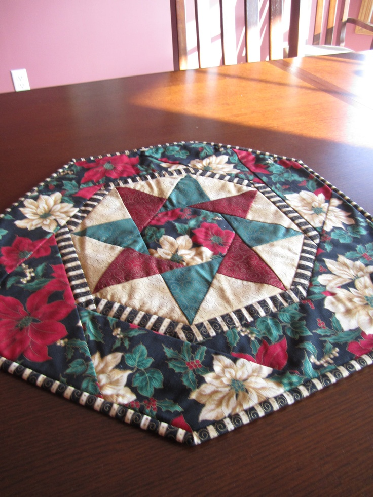 Christmas quilted table centerpiece tables etsy and