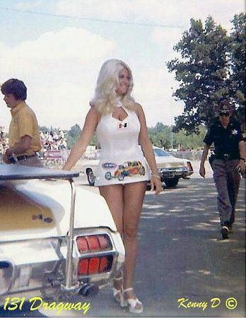 Vintage Drag Racing - Linda Vaughn