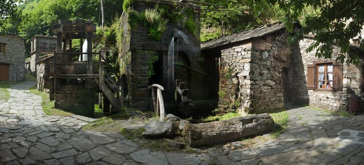 Conjunto Etnográfico Os Teixois, Taramundi (Asturias)