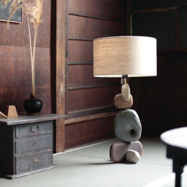 Sculptural Table Lamp by x+l