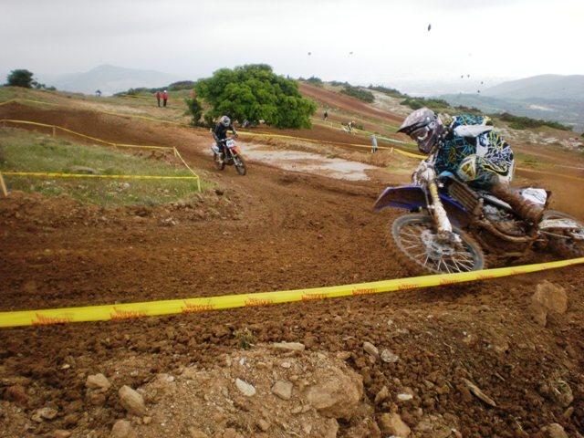 Motocross race at Sesklo