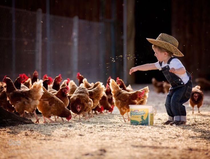 So darn cute! I want to live out in the country w/ a farm and everything. Being with family in the country, ain't nothin' but like that good ol' country livin' ! Lol