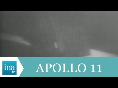 Neil Armstrong pose le pied sur la Lune en direct - Archive INA 21 juillet 1969
