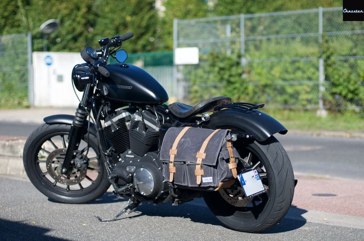 Test besace sacoche Louis Moto - Chazster