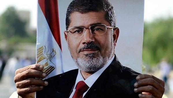 Tw  itter'da #Mursi etiketi