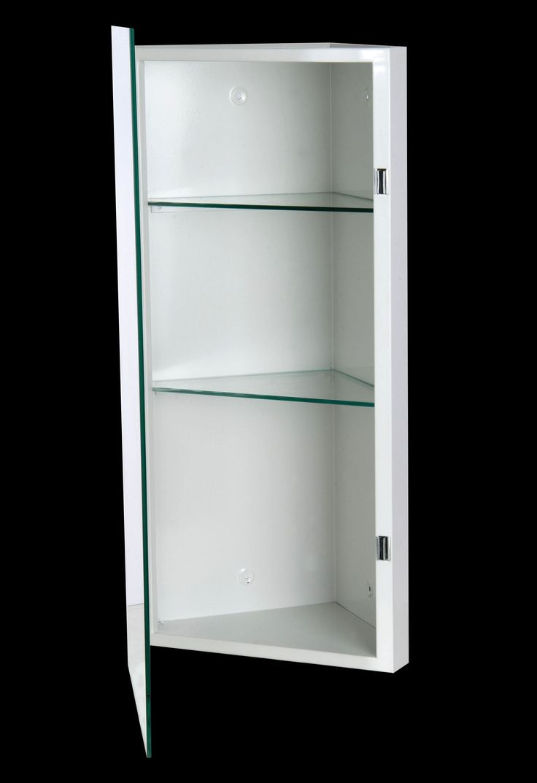 Corner Mirror Bathroom Cabinet