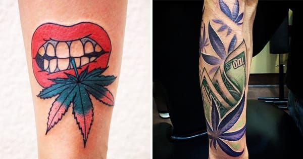 Some nice ones here - Weed Tattoos