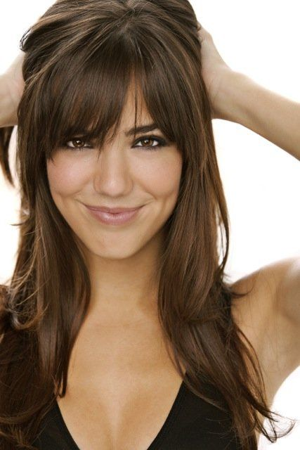 Hair Styles With Bangs 66 Best Long Hair Styles With Bangs Images On Pinterest  Fringe