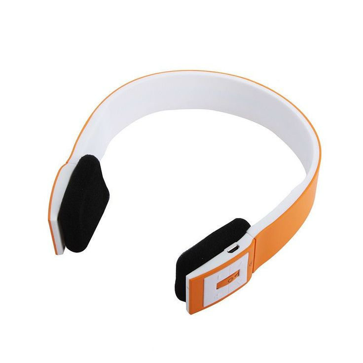 6 Colors 2.4G Wireless Bluetooth V3.0 EDR stereo Headset Headphone with Mic for iPhone iPad Smartphone Tablet PC