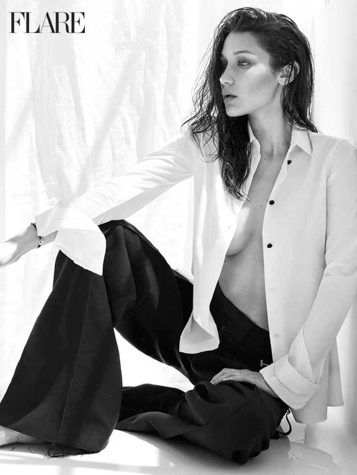 Bella Hadid Smolders in Calvin Klein for FLARE Magazine | Позы моделей, Фотографии женщин, Модные позы