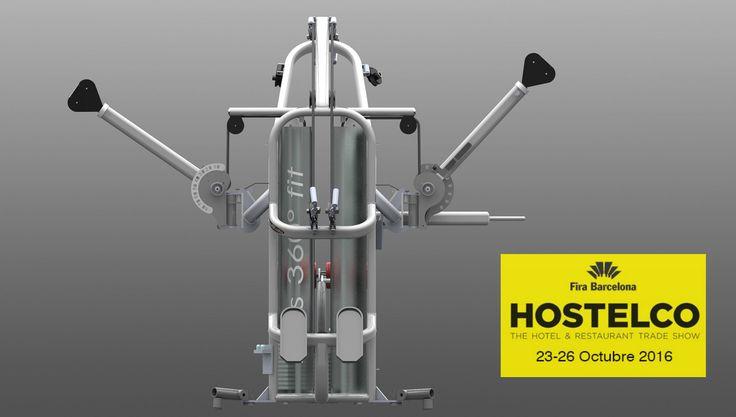 Ortus Fitness estará presente en HOSTELCO salón del equipamiento para la hotelería. Tendrá lugar en el Recinto Ferial Gran Vía en Barcelona del 23 al 26 de Octubre.Estaremos ofreciendo tendencias y soluciones en el área fitness, oferta de auge en la industria hotelera.