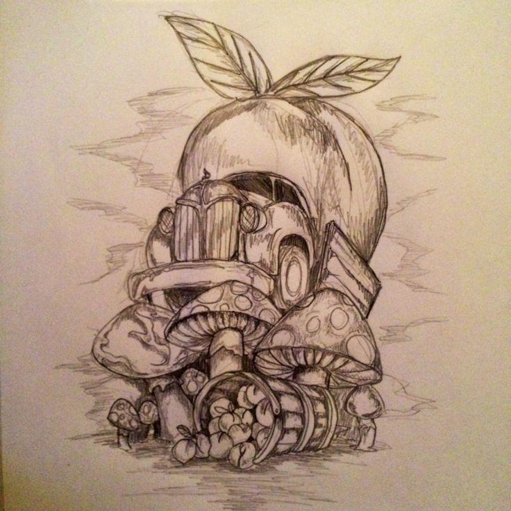 Quick Allman Brothers Tattoo Sketch (Anniversary Edition