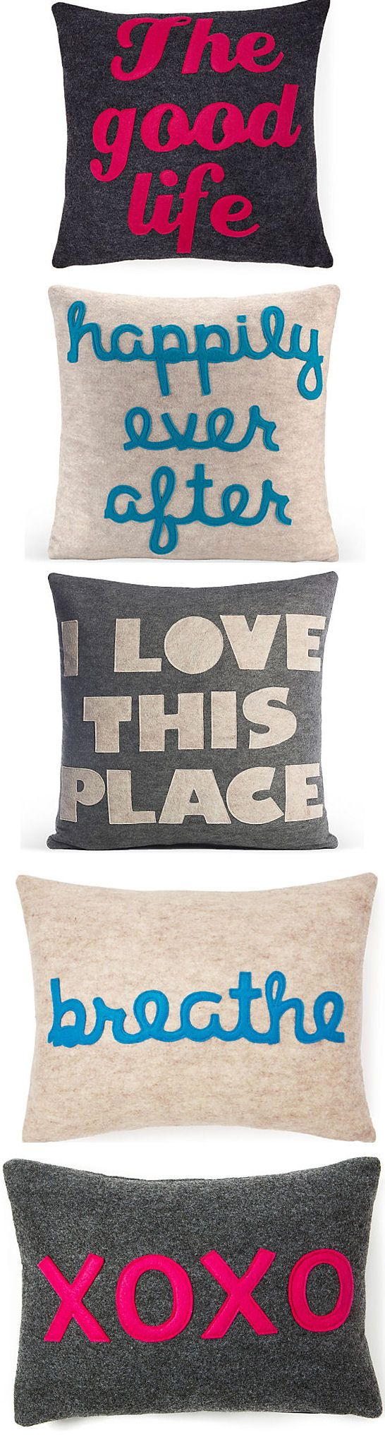 Loving these Statement Pillows <3