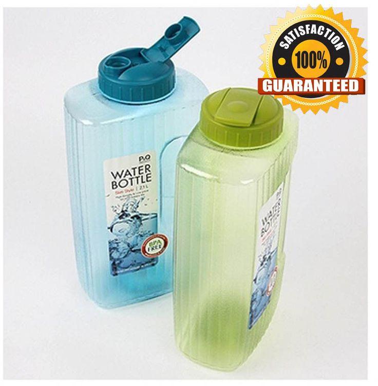 Lock Bpa Free Square Large Water Bottles 2l And N