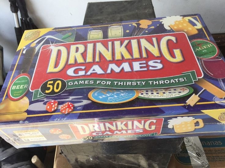 Cheatwell 50 Drinking Games 2005 Unopened New In Box 2 Players For Thirsty #CheatwellGames