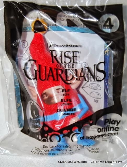 McDonald's 2012 Dreamworks Rise of the Guardians Elf Toy #4
