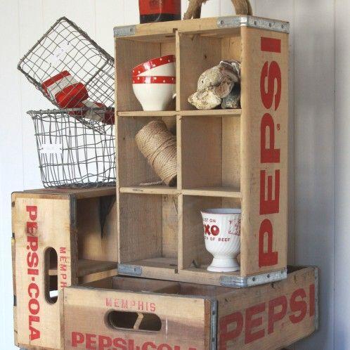 Vintage American Pepsi Crate | Dee Puddy