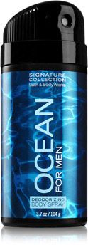 Ocean For Men Deodorizing Body Spray - Signature Collection - Bath & Body Works