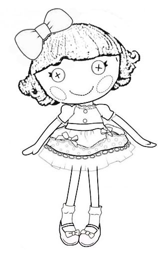 Pin pin lalaloopsy littles coloring pages on pinterest on for Lalaloopsy littles coloring pages