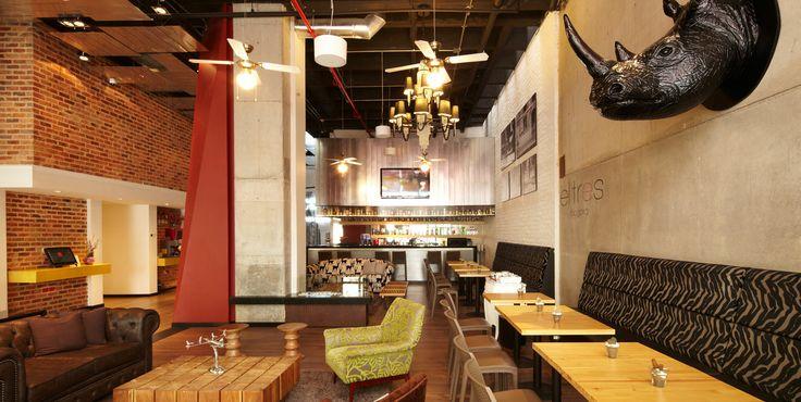 El Tres es un tipo de #barlounge donde puedes comer liviano, tomar algo especial y escuchar música suave.