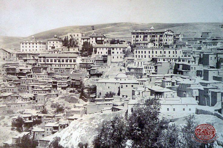 Harput Şehri'nden bir manzara (Kaynak: Harvard University, Houghton Library)