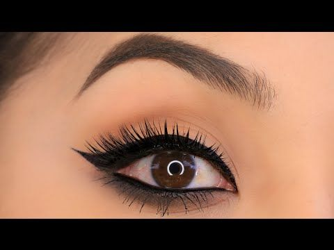 Quick and Easy: Winged Liner - YouTube