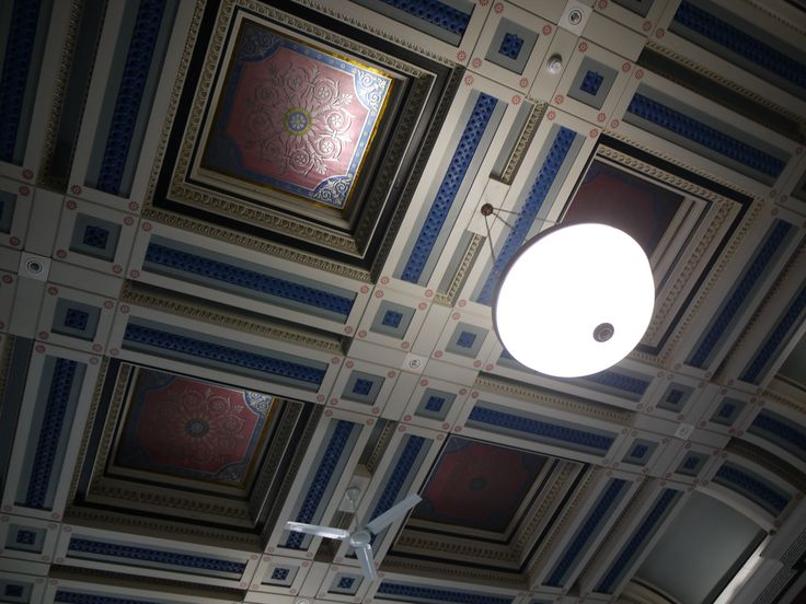 Ceiling, Macclesfield Town Hall