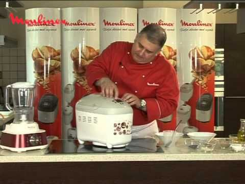 Reteta video H. Virlan - Masina de paine Moulinex - Paine cu seminte.mpg