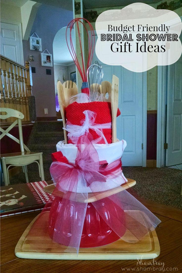 Wedding Shower Gift And Wedding Gift: Budget Friendly Bridal Shower Gift Ideas