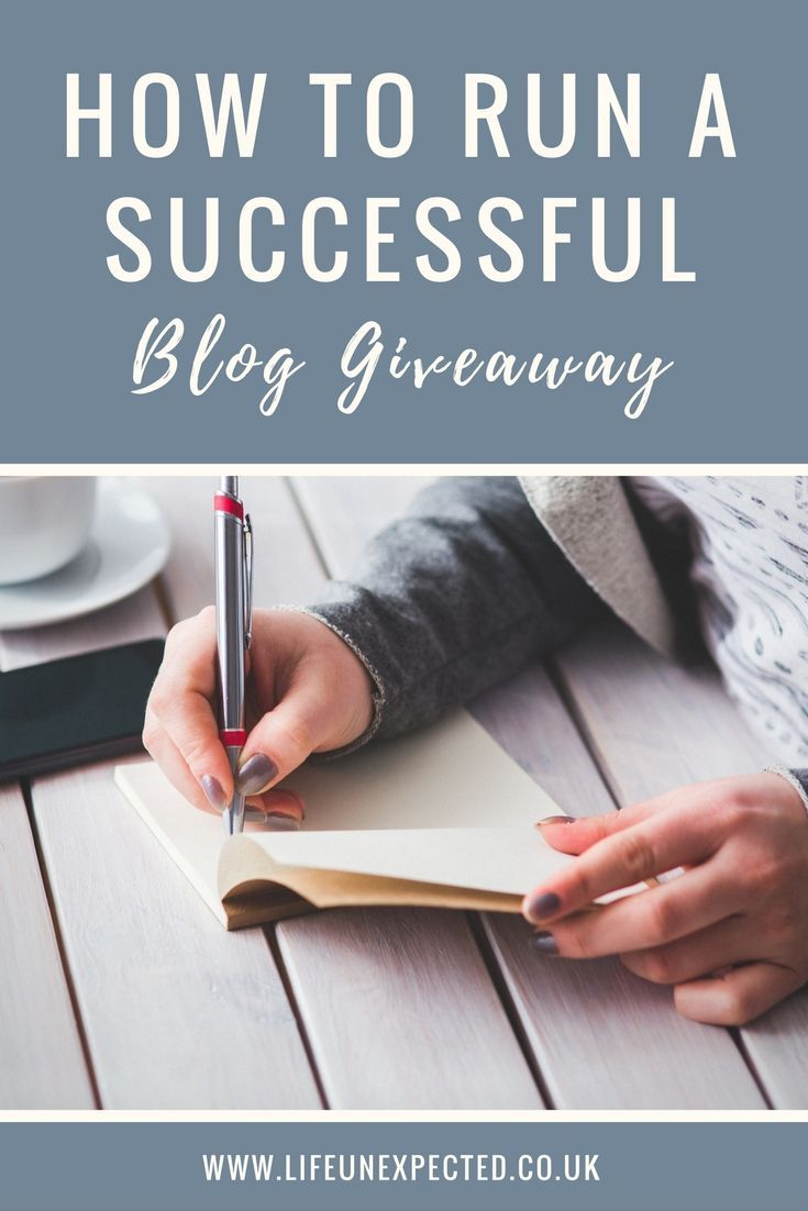 How to run a successful blog giveaway, including how to set up your blog competition and get thousands of entrants.