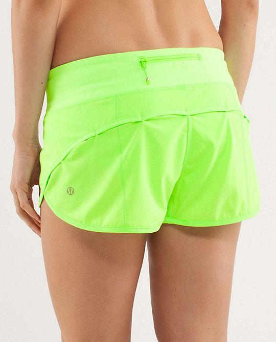 Lululemon Run: Speed Short; honestly the best shorts ever created