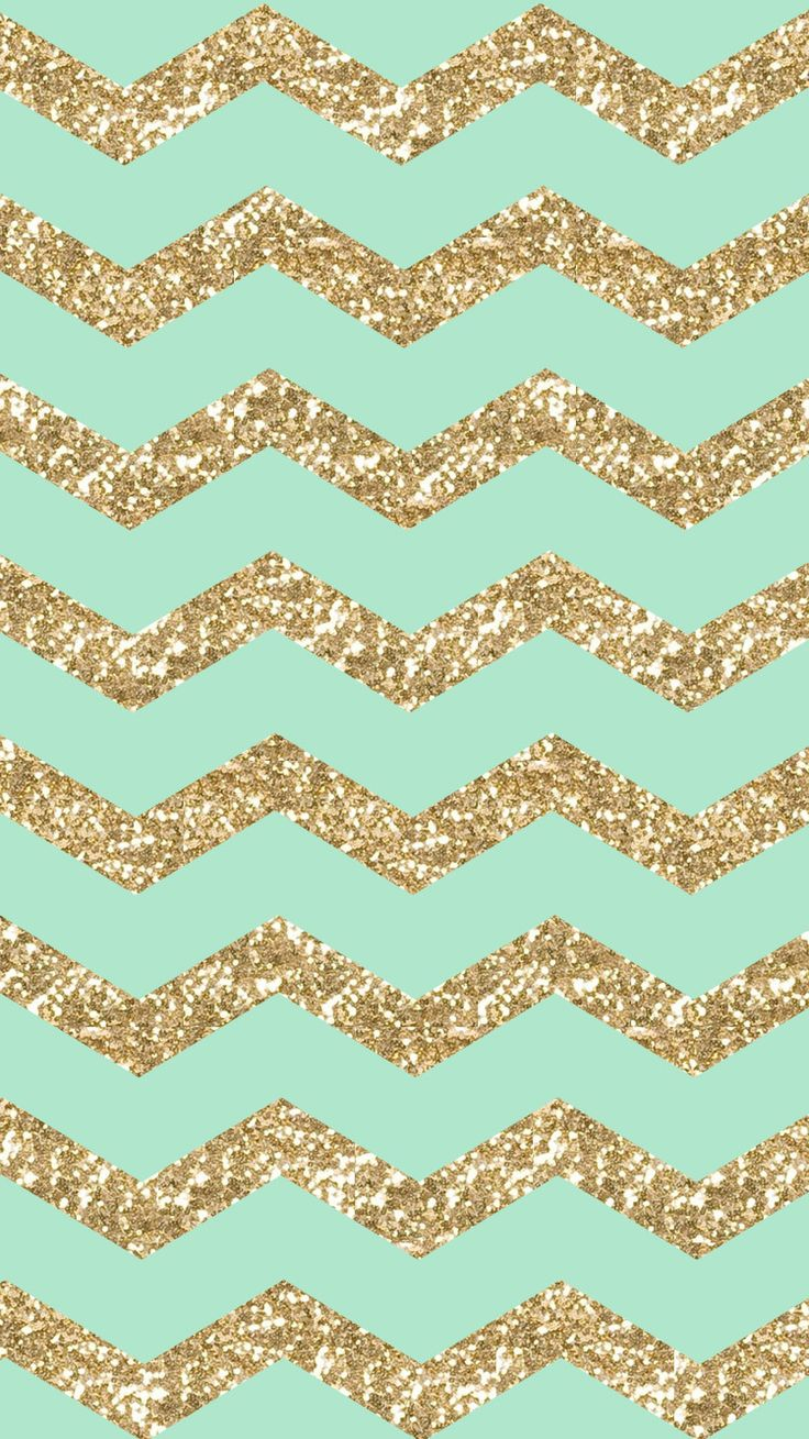 Gold Glitter Sparkle Bright For Girls Mint Cool HD iPhone 6 Wallpaper✅