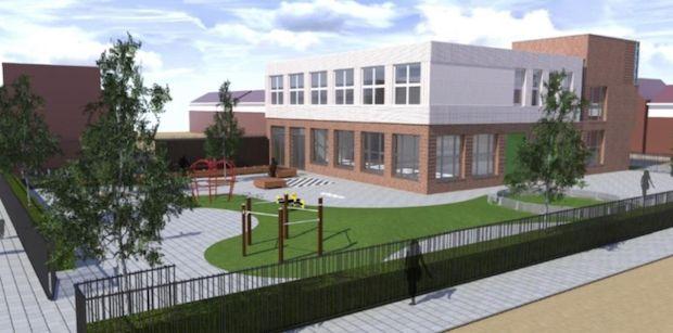 Nieuwbouw Tamarinde #Zaandam http://deorkaan.nl/huisvesting-scholen-zaanstad-valt-e-127-duurder-uit/