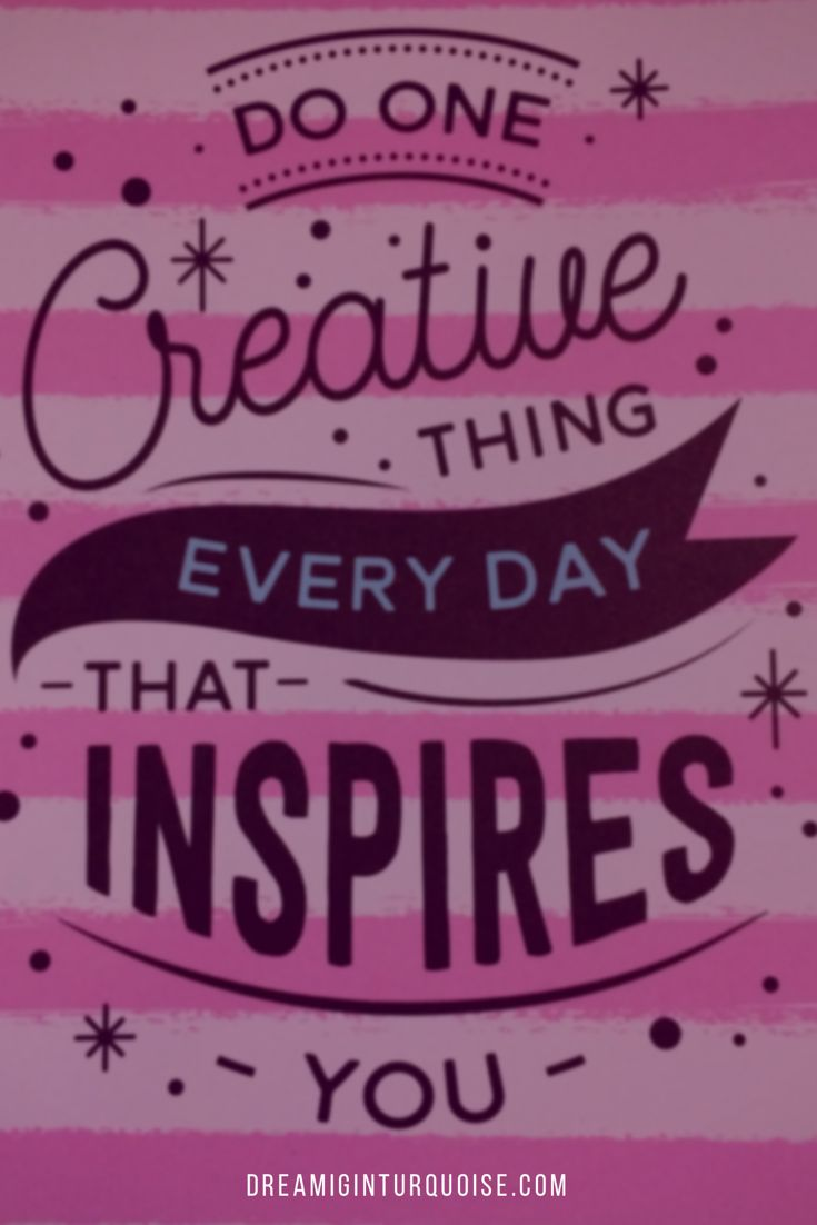 Create. Get inspired.
