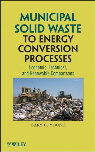 Municipal Solid Waste to Energy Conversion Processes: Economic, Technical, and Renewable Comparisons by Gary C. Young. $58.96. 400 pages. Author: Gary C. Young. Publisher: Wiley; 1 edition (May 23, 2011)