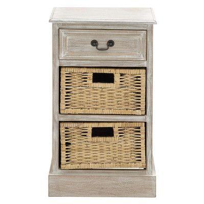 Urban Designs 3 Drawer Nightstand - http://delanico.com/nightstands/urban-designs-3-drawer-nightstand-603748806/