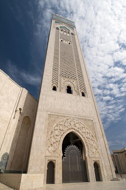 ..._King Hassan II Mosque, Morocco مسجد الملك الحسن الثاني بالمغرب !! وأن المساجد لله فلا تدعو مع الله أحدا ،،،،